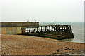 TQ2304 : Shoreham Harbour entrance by Robin Webster