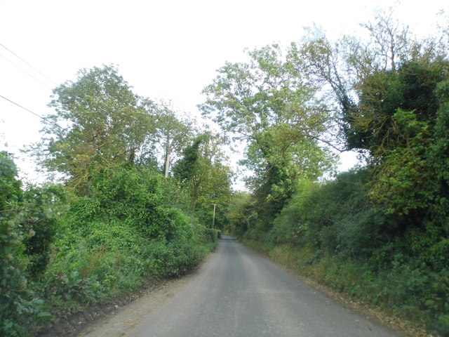 Shacklands Road approaching Shoreham