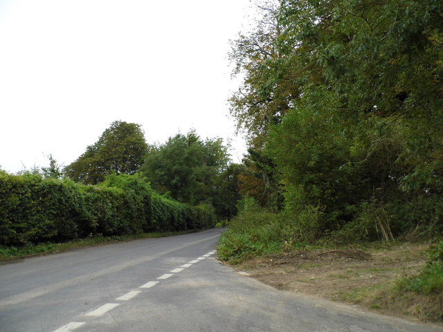 Pilgrim's Way at the junction of Old Terry's Lodge Road