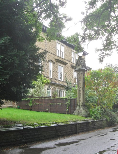 Superb houses at Matlock, Derbyshire