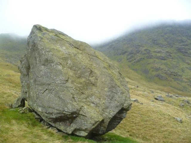 Boulder in Greenburn
