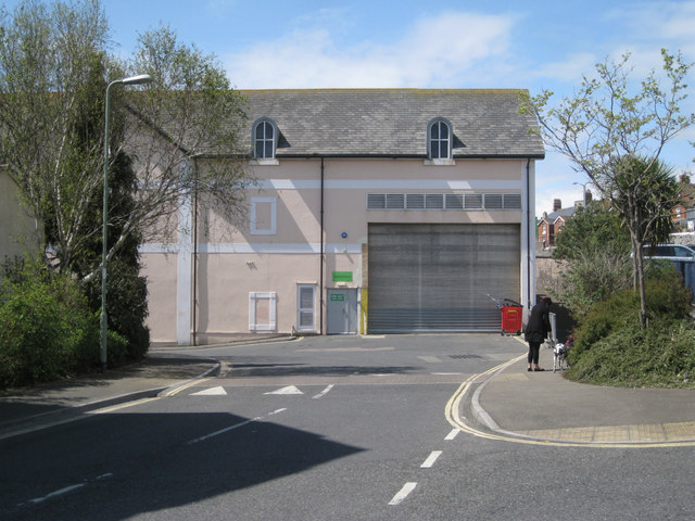 Supermarket delivery bay, Lower Brook Street