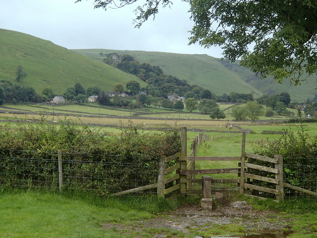 Stile on footpath to Castleton