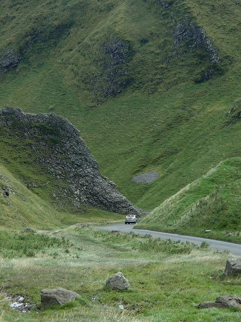 Winnats Pass scene