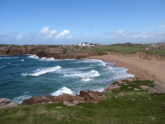 Traderg Strand on Cruit Island