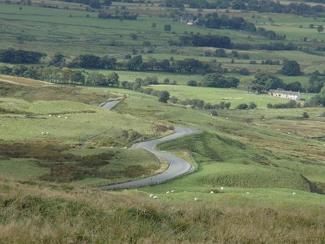 Lane below Mam Tor