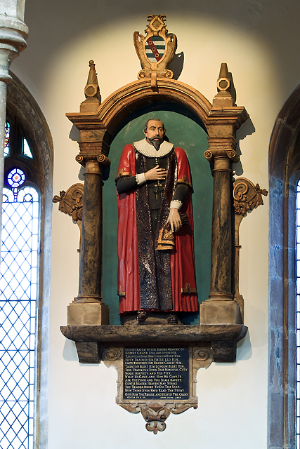 Church of St Mary Magdalene, Taunton - monument to Robert Graye