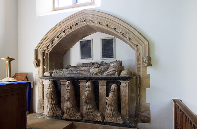 Church of St Andrew & St Mary, Pitminster - monument to John Coles