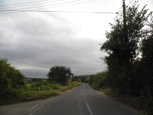 Filston Lane leaving Shoreham