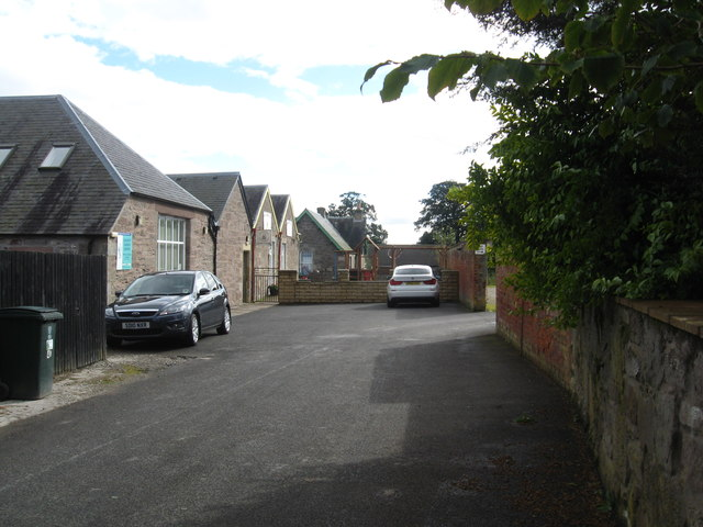 Road leading to Stanley and Redgorton Church Centre