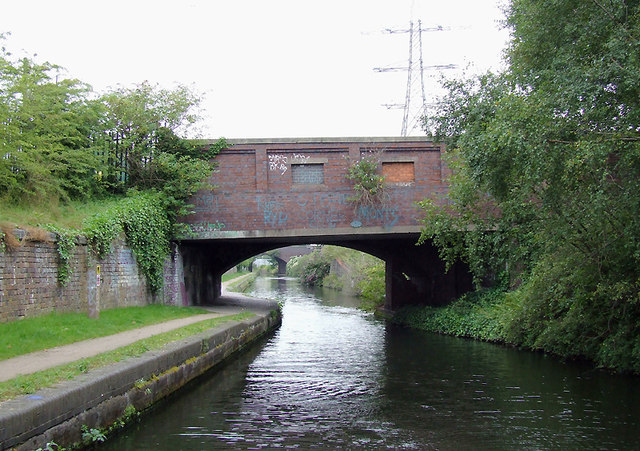 Cranby Street Bridge near Saltley, Birmingham