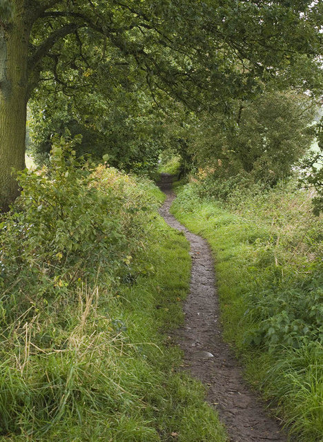 Path south of Blackleyhurst Farm, Billinge