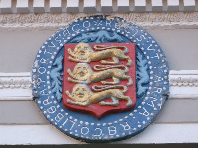 The Coat of Arms for the Cinque Ports, Faversham