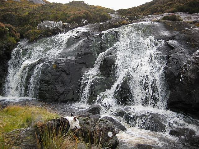 Waterfall, Allt Mille nan Con