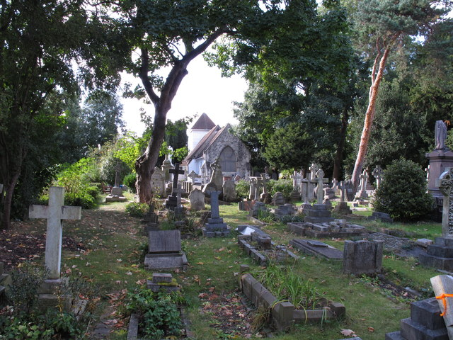 St Mary's Perivale and churchyard
