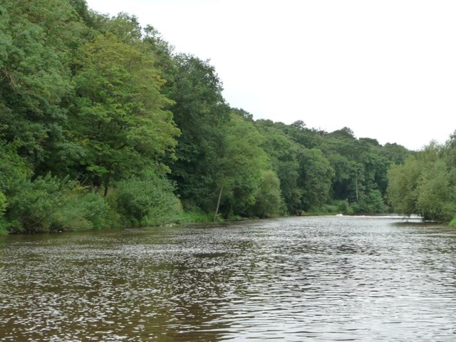 Unnavigable stretch of the Severn