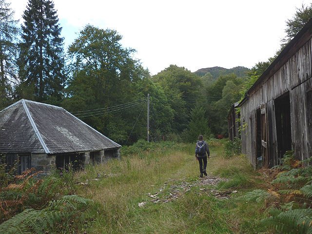 Track by the Tummel