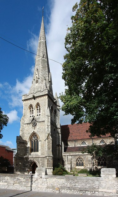 St Edward the Confessor, Market Place, Romford