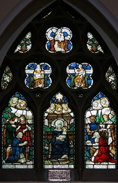 St Edward the Confessor, Market Place, Romford - Stained glass window
