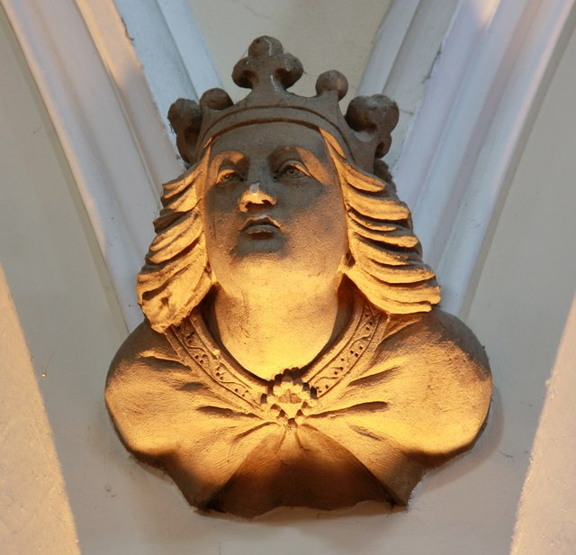 St Edward the Confessor, Market Place, Romford - Corbel
