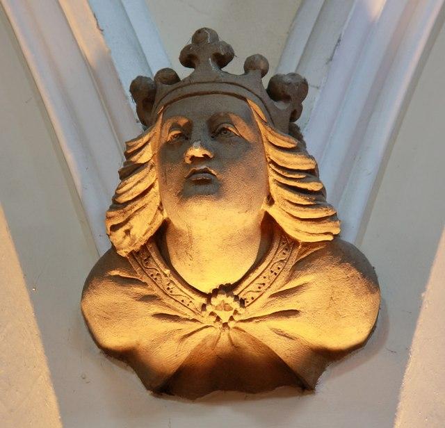 St Edward the Confessor, Market Place, Romford - Corbel
