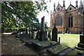 TQ3975 : St Margaret, Brandram Road - Churchyard by John Salmon
