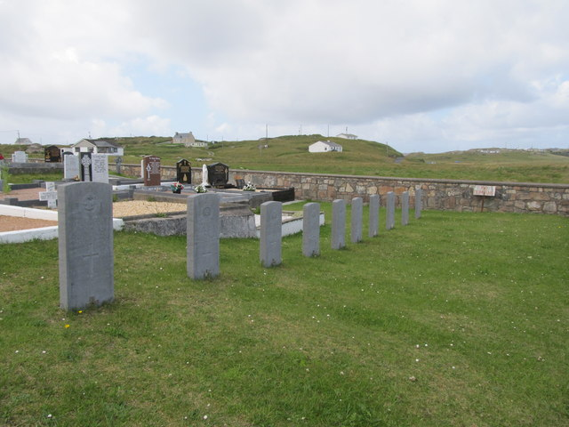 Commonwealth War Graves at Cill Bhride Cemetery