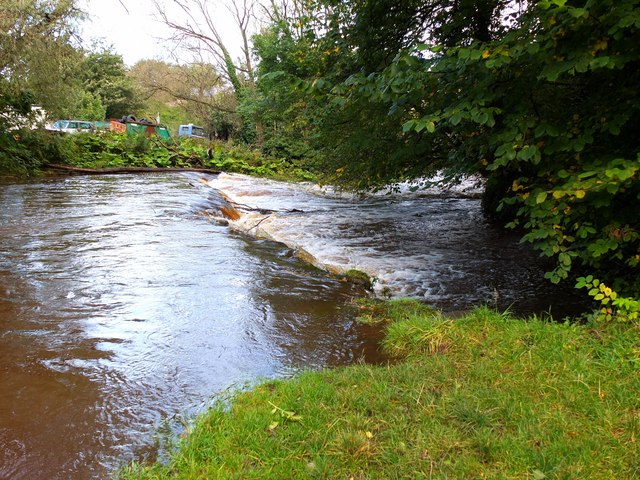 Weir at Slateford