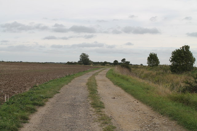 Track near Great Hale Eau