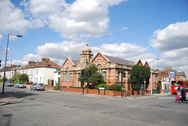 Library, Sandhurst Rd