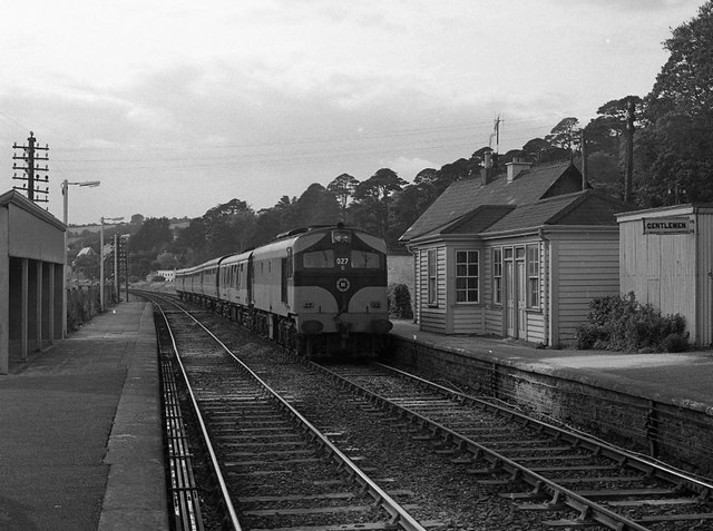 Train at Cobh Junction (Glounthaune) - 4