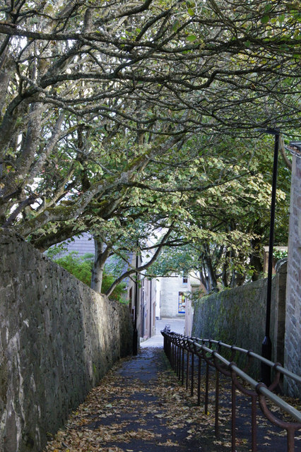 Bank Lane, Lerwick
