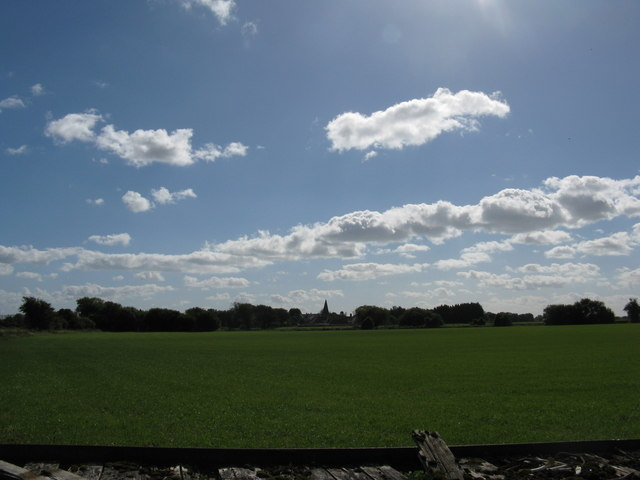 Arable land near Copse Farm