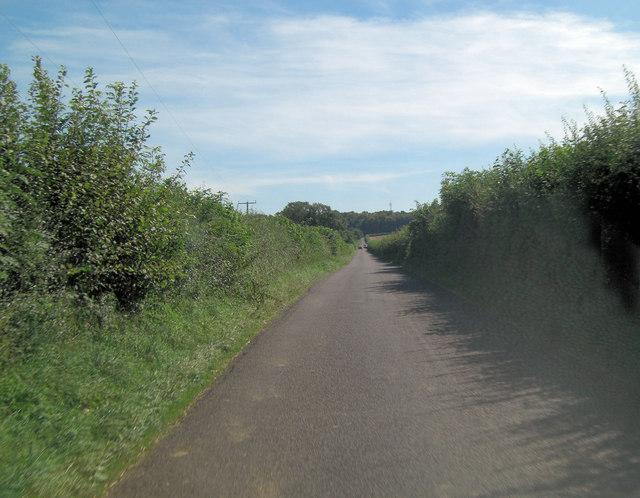 Stratton Lane south of Burcot Farm