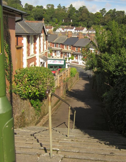 Steps and path in Chelston