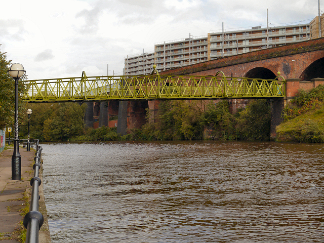 River Irwell, Woden Street Bridge