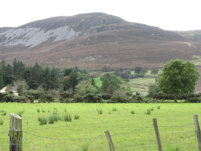 The slopes of Slievenaglogh from the Ballgoley