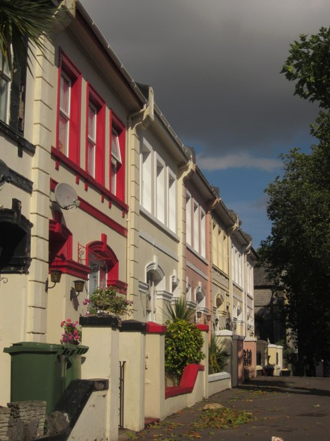 Terrace on Bampfylde Road, Torquay