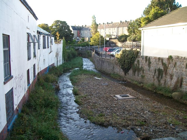 The Aughrim or Little Kilkeel River at Kilkeel