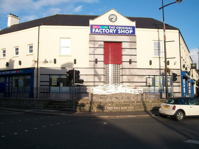 The Original Factory Shop in Lower Square of Kilkeel
