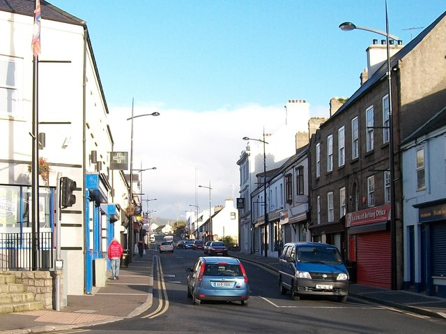 Newry Road, Kilkeel, from the Lower Square