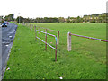 NS5027 : Entrance to a play area in Mauchline by Richard Dorrell