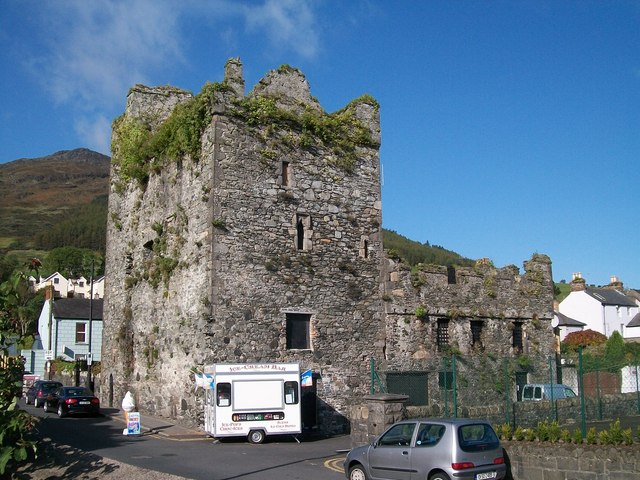 Taaffe's Castle from the seaward side