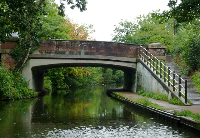 Richmond Road Bridge near Olton, Solihull