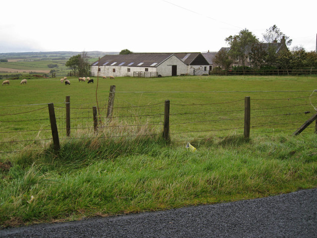 Barns at East Hillhead farm