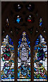 TQ5088 : St Andrew, St Andrews Road, Romford - Stained glass window by John Salmon