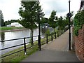 SO8070 : Riverside Walk, Stourport-on-Severn by Christine Johnstone