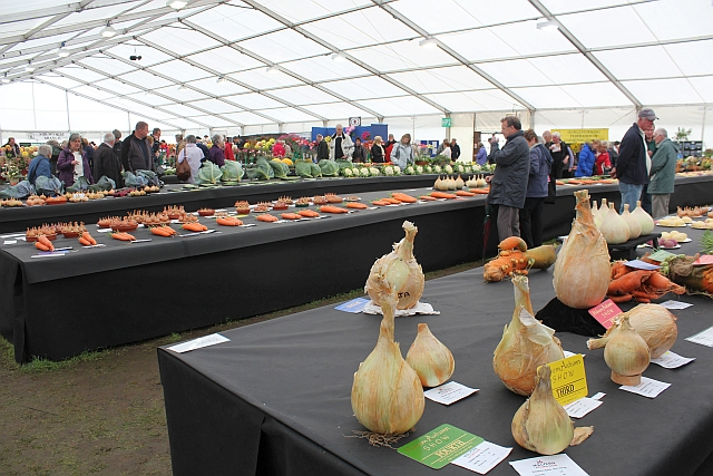 National Vegetable Society display, the Autumn Show