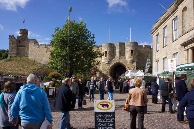 Main Entrance, Lincoln Castle