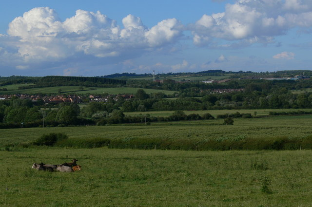 Farmland near Chalk Pool Hill